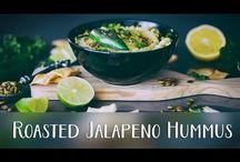 vidéo pâté végétal, hummus