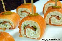 Rollizos de salmon