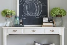 FALL / A collection of gorgeous and cozy fall decor and craft projects.