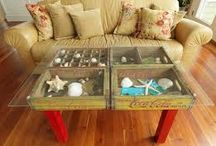 Use your OLD crates!! / Use your old crates wisely with these fun and creative ideas