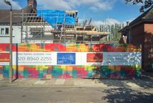 Colourful Hoardings