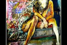 David John Lloyd work - Nudes / David John Lloyd art work
