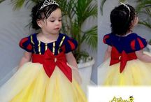 vestido princesas