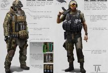 Armures modernes/futur proche