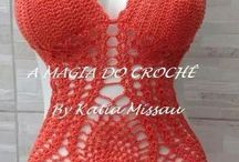 costume de baie crosetate