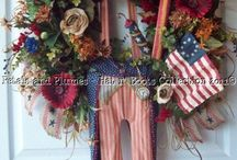 Front Door Decor / by Jamie Gussner