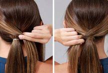 Haare Pflege