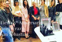 Fiesta 5º Aniversario Aristocrazy San Sebastian / #eventos #joyas