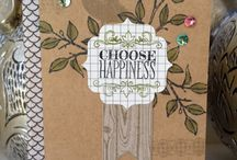 Cards - Choose Happiness / by Hill Country Stampin'