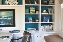 Home Office Design / Ideas / by Jennifer Arnold,