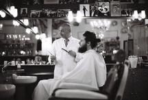 Antica Barbieria Colla in Black&White by  Kornelius Werhahn-Mees / The oldest italian barbershop shot by  Kornelius Werhahn-Mees from SoulObjects.de