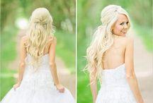 Wedding hair ❤️ / by Samantha Pokrajac