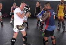Kickboks oefeningen