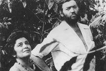 El Salvador Writers / Escritores de El Salvador / Portraits of Salvadoran Writers / Retratos de escritores salvadoreños