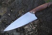 handmade kitchen chef knives