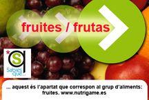 FRUITES / FRUTAS / Frutas frescas