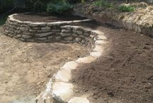 Concrete dry wall