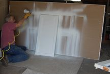 How to Paint Kitchen Cabinets / Series of pins to learn how to paint kitchen cabinets. / by Sapien Construction