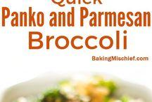 Panko and Parmesan Broccoli