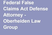 Federal False Claims Act Defense Attorney