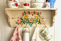 Vintage Kitchen / Vintage kitchen inspiration