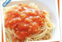 Foods / Pasta / by Mutsumi HARA