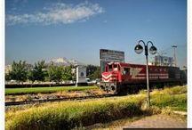 Tren gelir hoş gelir Kayseri
