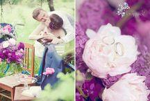 mariage thème fantaisie de rose pourpre très créative / mariage thème fantaisie de rose pourpre très créative