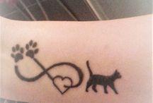 cat tattoo / my tattoos