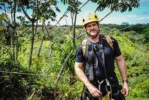 Steven Cox Instagram Photos Getting ready for some zip lining adventures!  #zipline #ziplining #kauai #weekend