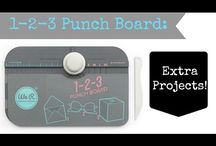 we r memory keeper 1-2-3 punch board ideas and tutorials