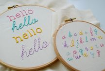 lettering stich