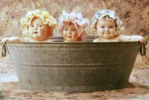Little girls! / sugar & spice...that's what little girls are made of... / by Vintage Butterfly {>i<}
