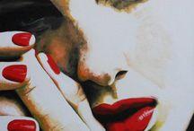 Les peintures de Cindy Press ,magnifique...