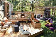 Backyard Deck Idea