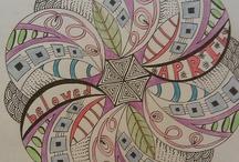 Tangle  - Circles / Zentangle Inspirations - Circles