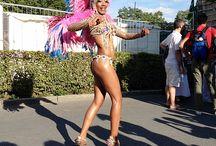 Samba-Festival Coburg 2014 / Das brasilianische Flair durften 200.000 Besucher vom 11. bis 13. Juli beim Samba-Festival in Coburg erleben. Für die Stimmung sorgten vor allem internationale Tänzer sowie Tänzerinnen.
