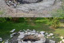 Fire Pit - warming toes in the garden / Fire Pits