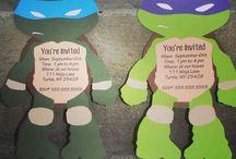 Party ideas - ninja turtles