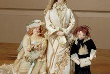 Куклы в исторических костюмах и куклы с историей