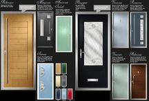 Composite Front Doors / A selection of composite front doors