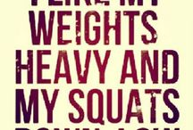 Workout quotes / by Chelsea Belanger
