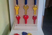 clés couleur