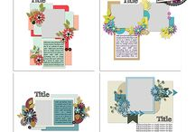 {Complete Catalog} Dagi's Temptations / Digital layout templates made by Dagi's Temp-tations.
