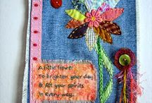 Fabric, Prayer Flags and Banners / by Lorrie Thomas
