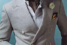Kostymer, kavajer, skjortor, slipsar mm