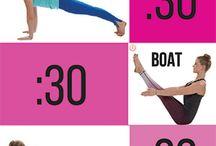 Jooga ja jumppa/ yoga and gymnastic