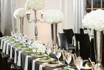 Black and White Wedding / by Jaime Holliday