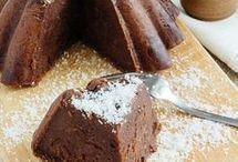 pastel chocolate frio