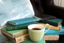 books, tea & coffe